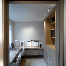 Contemporary Home Office by Hill Mitchell Berry Architects
