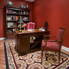Traditional Home Office by Fredman Design Group