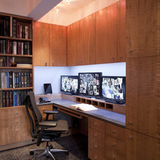 Contemporary Home Office by gne architecture