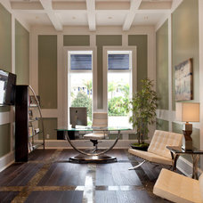 Contemporary Home Office by Weber Design Group, Inc.