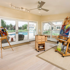 Traditional Home Office by New Outlooks Construction