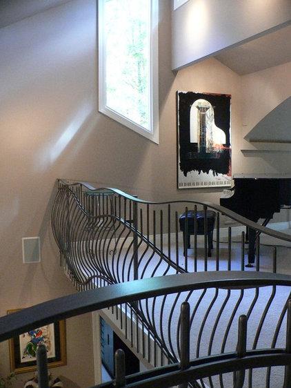 Contemporary Home Office by Maynard Studios