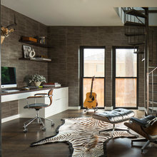 Room of the Day: A Rich and Sophisticated Modern Home Office