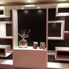 Contemporary Home Office by Millennium Cabinetry