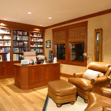 Traditional Home Office by Michael McCloskey Design Group
