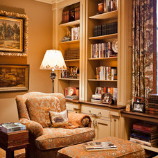 Traditional Home Office by Eric Ross Interiors, LLC