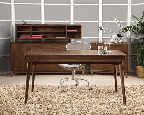 midcentury burlington home office design ideas remodels photos