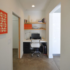 Contemporary Home Office by Steve Gates Architect