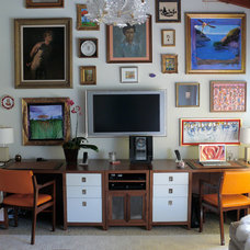 Contemporary Home Office by Bon Vivant