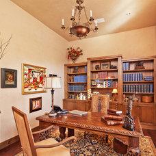 Traditional Home Office Cord Shiflet Spanish Oaks Villa