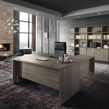 Corner Office Desk Tivoli by ALF Italia