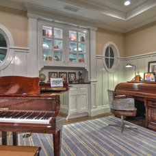 Traditional Home Office by Spinnaker Development