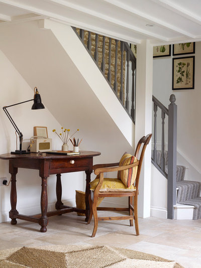 Country Home Office & Library by Jo Shore Ltd