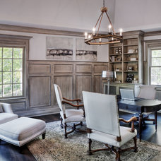Eclectic Home Office by Gabriel Builders Inc.