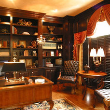Traditional Home Office by Interior Details