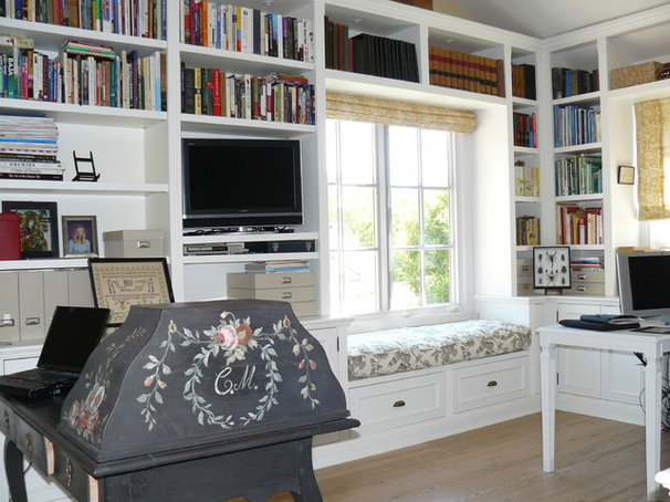 Traditional Home Office by Howard Bankston & Post