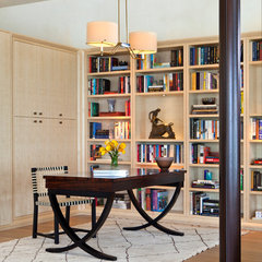 contemporary home office by Furman + Keil Architects