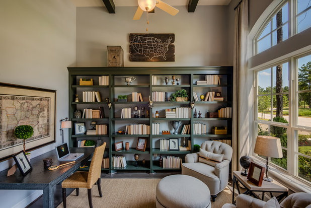 American Traditional Home Office by COVENTRY HOMES - Built Around You
