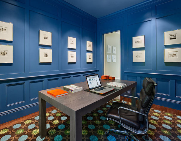 Contemporary Home Office by Matarozzi Pelsinger Builders