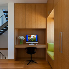 contemporary home office by Vinci | Hamp Architects