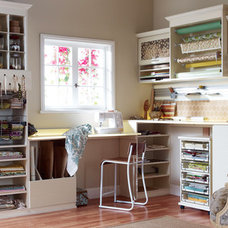 Modern Home Office by California Closets Fort Lauderdale