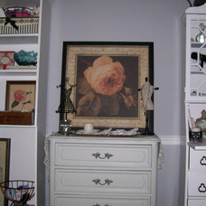 Traditional Home Office Craft/Office Space