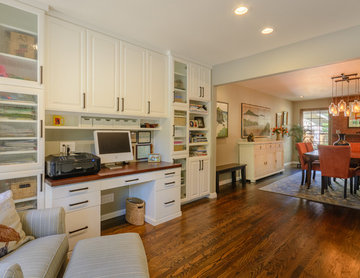 Craft Room and Dining Room-Reimagined Spaces