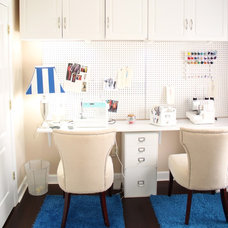 Traditional Home Office by Beaute Jadore