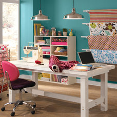 Eclectic Home Office by BEHR®