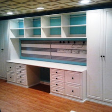 Traditional Home Office by California Closets Maryland