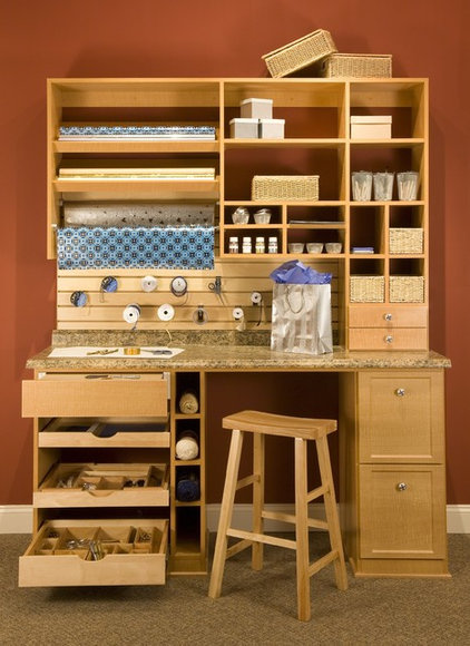 Traditional Home Office by Closet & Storage Concepts