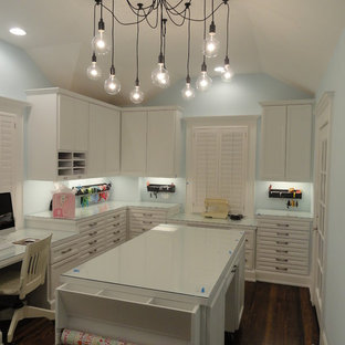 75 Craft Room Design Ideas Stylish Craft Room Remodeling Pictures