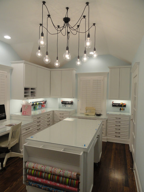 Craft Room Design Ideas Remodels Photos