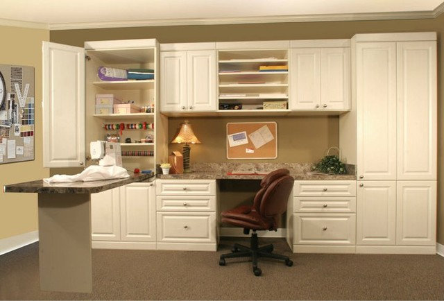 Traditional Home Office by More Space Place of Nashville