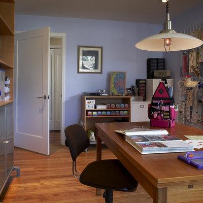 Trendy craft room photo in San Francisco