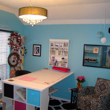 Traditional Home Office Craft Room
