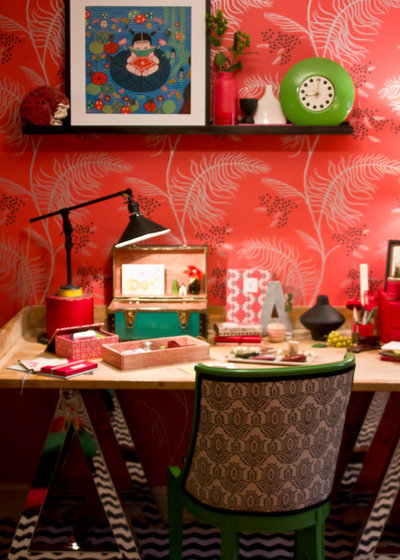 Home Office Craft Room — San Francisco Decorator Showcase 2011