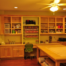 Traditional Home Office by Van Nostrand Cabinets