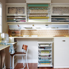 Contemporary Home Office by California Closets of Louisville and Lexington