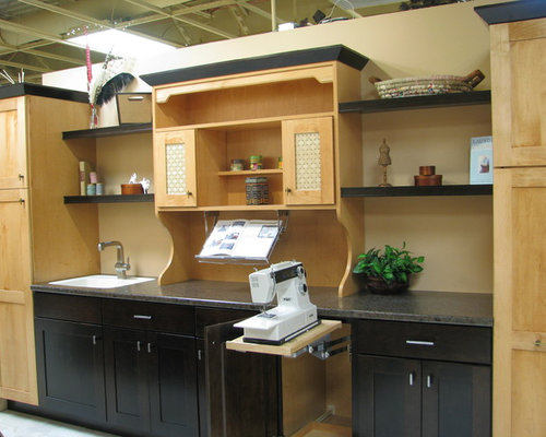 Pop-Up Mixer Cabinet Home Design Ideas, Pictures, Remodel and Decor
