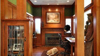 Craftsman Inspired Kitchen