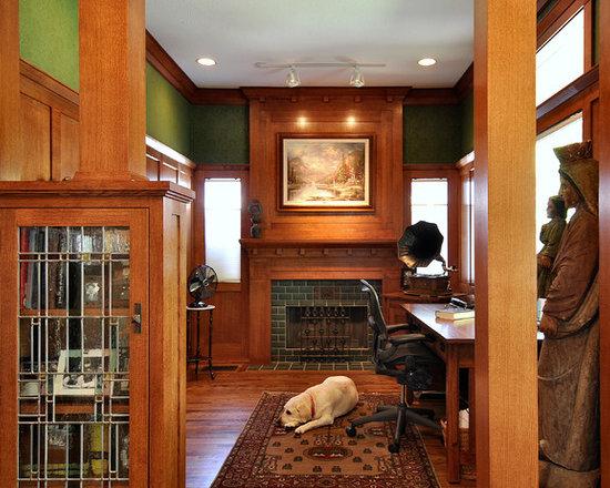 Craftsman Style Fireplace Houzz