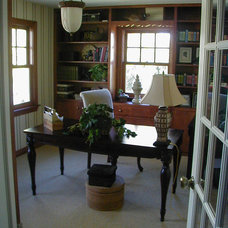 Craftsman Home Office by Residential Designed Solutions