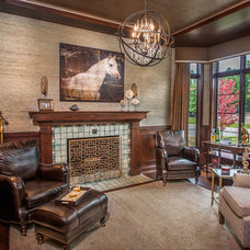 Traditional Home Office by Cranbrook Custom Homes