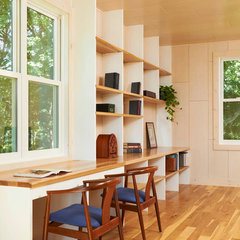 modern home office by Ingrained Wood Studios: The Mill
