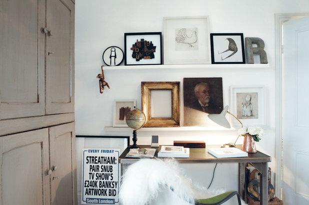 purismus wohnung mit eklektischer einrichtung, mit antiquitäten einrichten – tipps für einen gelungenen stilmix, Design ideen