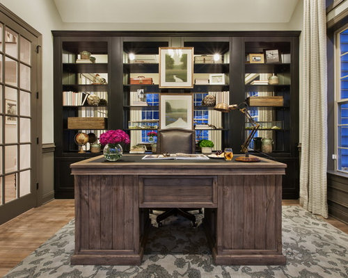 Luxury  Office Design Ideas Additionally Rustic Home Office Decorating Ideas