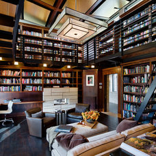Contemporary Home Office by ek Reedy Interiors, Inc.