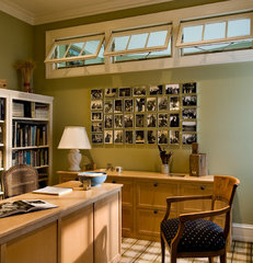 traditional home office by Crisp Architects