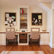 Traditional Home Office by Houseometry